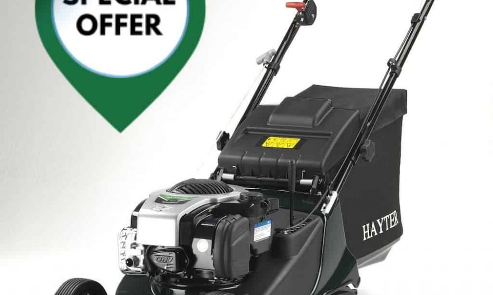 Summer ££ Savings ££ on this Hayter Harrier