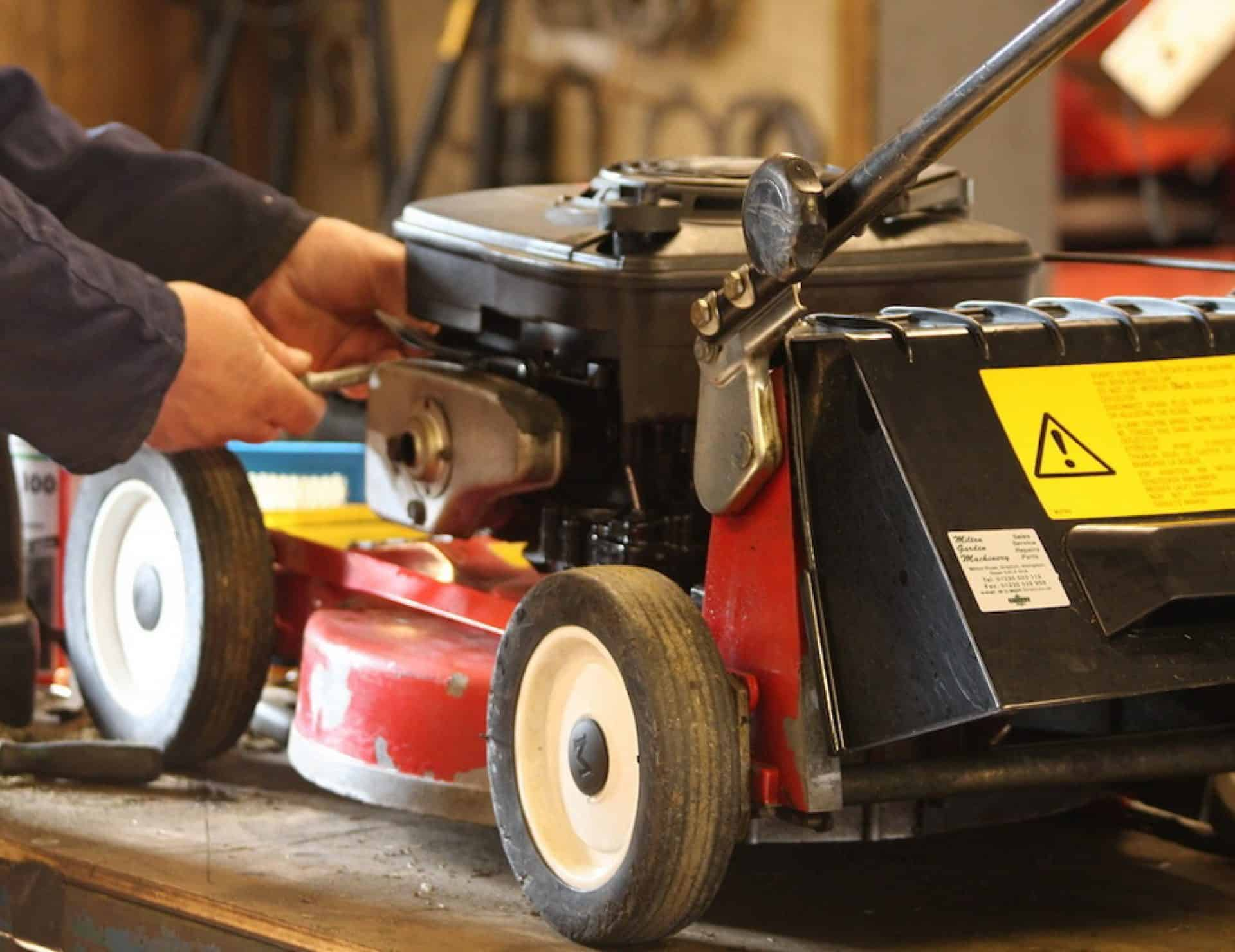 Prepare your mower for winter storage