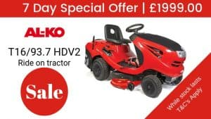 Save over £1000 on this AL-KO Lawn Tractor