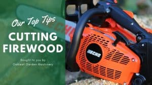 Cutting Firewood Safely with a Chainsaw